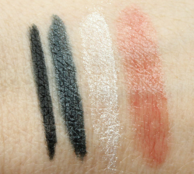 Pixi Futuristic Fall Face Swatches
