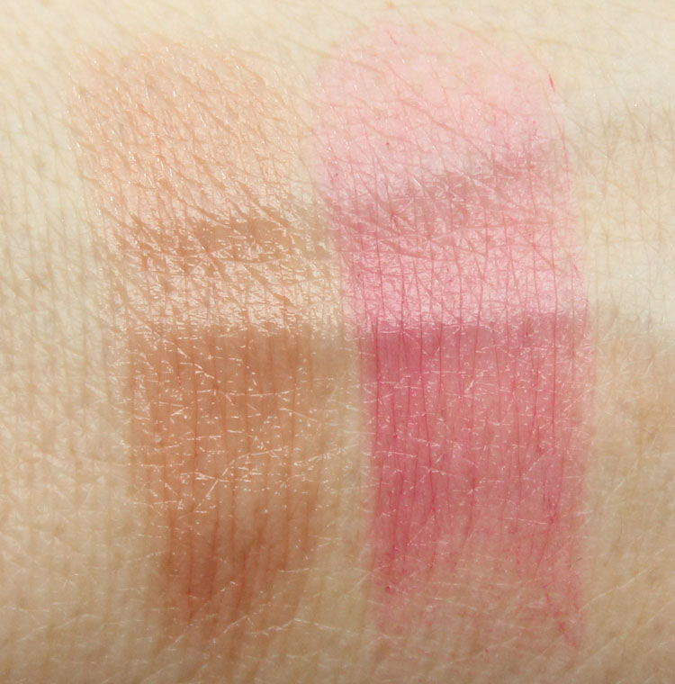 Pixi Shea Butter Lip Balm Trio Balmy Winter Swatches