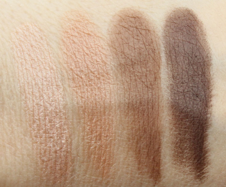 Pixi Ultimate Beauty Kit 2nd Edition Eyeshadow Swatches-2