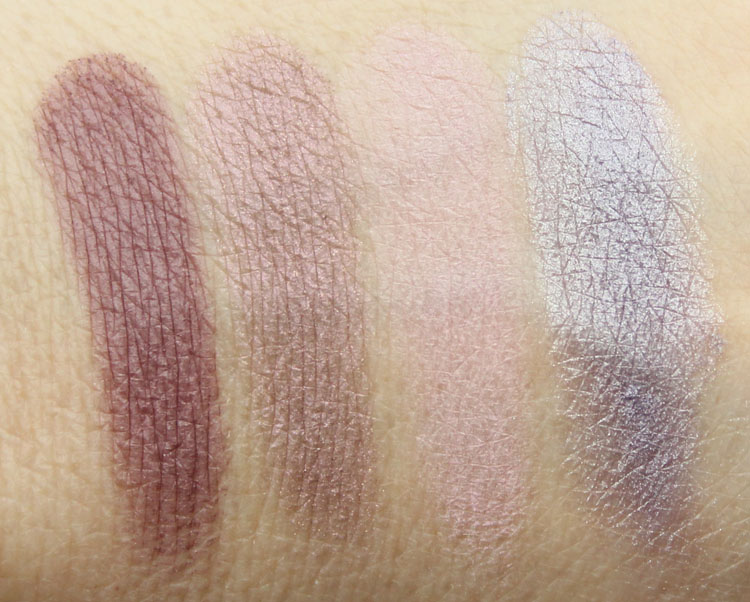 Pixi Ultimate Beauty Kit 2nd Edition Eyeshadow Swatches-3