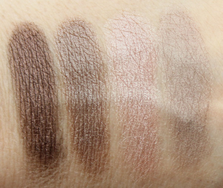 Pixi Ultimate Beauty Kit 2nd Edition Eyeshadow Swatches-4