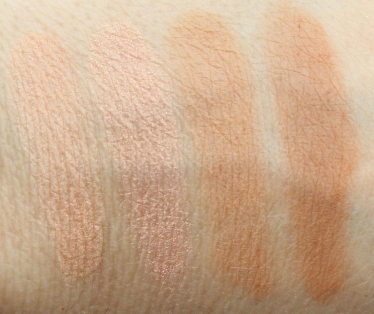 Pixi Ultimate Beauty Kit 2nd Edition Eyeshadow Swatches-6