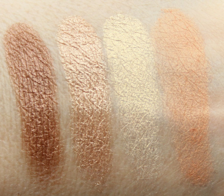 Pixi Ultimate Beauty Kit 2nd Edition Eyeshadow Swatches-7