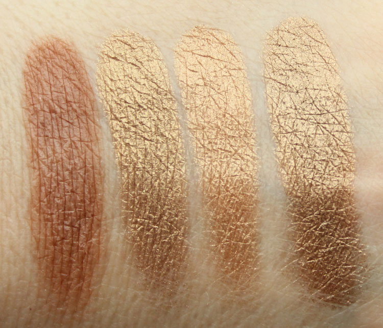 Pixi Ultimate Beauty Kit 2nd Edition Eyeshadow Swatches-8