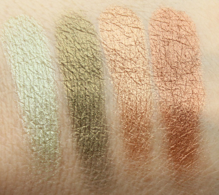 Pixi Ultimate Beauty Kit 2nd Edition Eyeshadow Swatches-9
