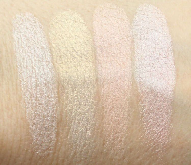 Pixi Ultimate Beauty Kit 2nd Edition Eyeshadow Swatches