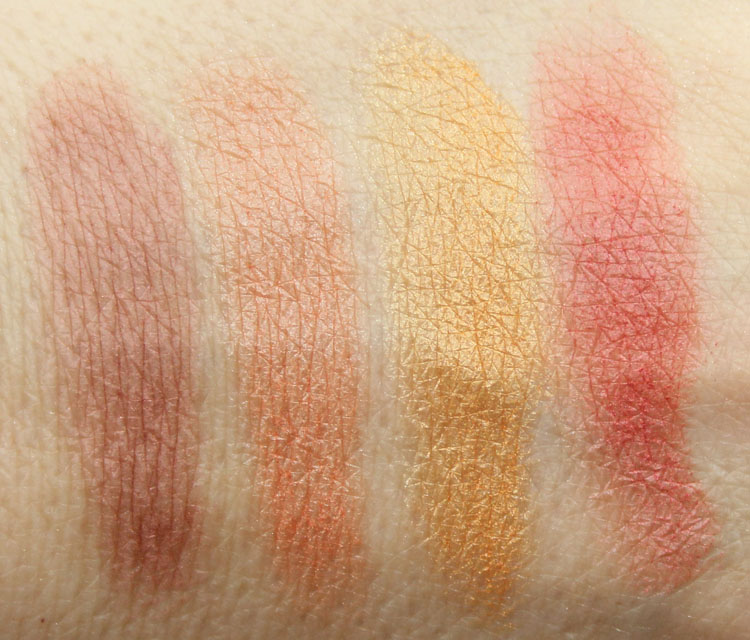 Pixi Ultimate Beauty Kit 2nd Edition Highlighters and Cheek Powder Swatches-3