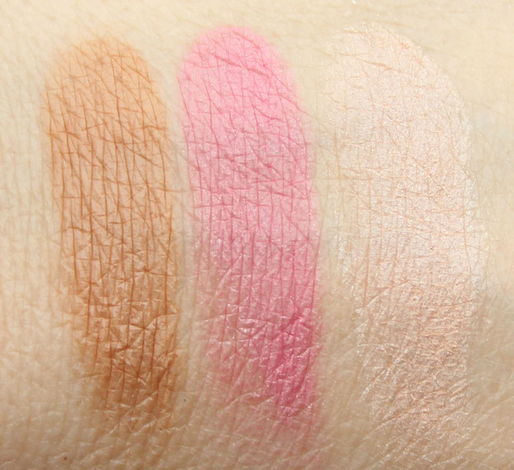 Urban Decay Naked On The Run Palette Swatches-2
