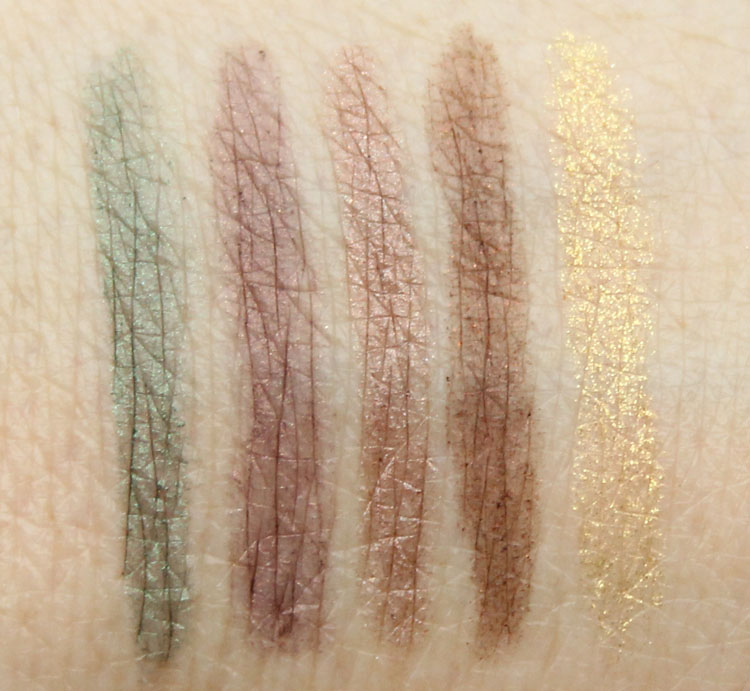 bareMinerals Afternoon Delights Swatches