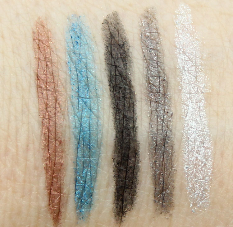 bareMinerals I Love The Nightlife Swatches
