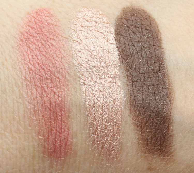 bareMinerals The Curtain Call Swatches