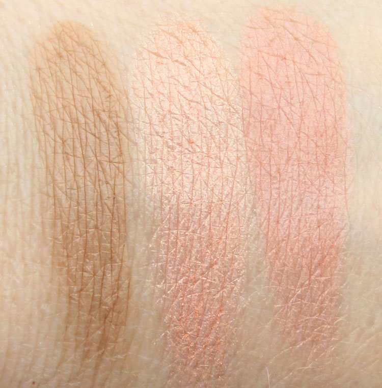 Benefit Cheeky Sweet Spot Swatches-2