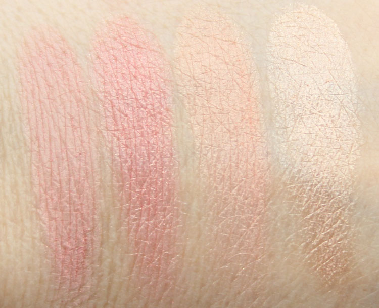 Benefit Cheeky Sweet Spot Swatches