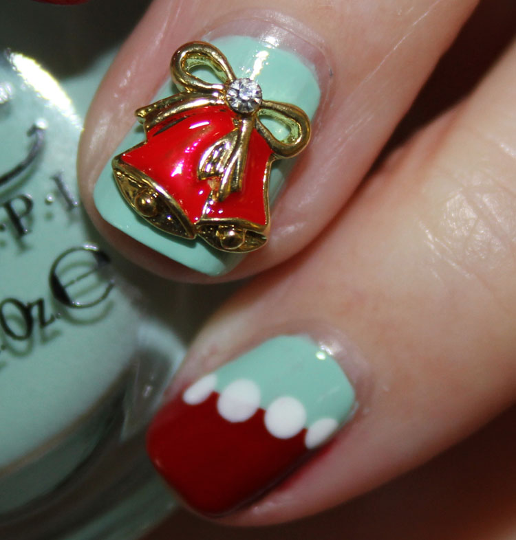 Christmas Nails with Daily Charme-2