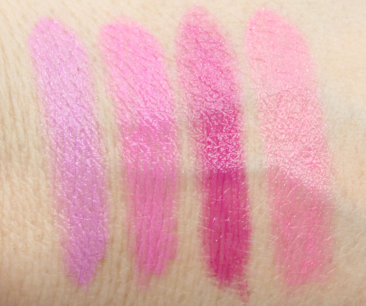 Maybelline Color Sensational Rebel Bloom Lipstick Swatches