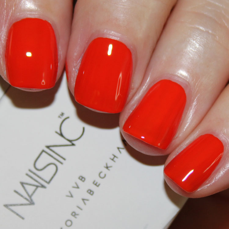 Nails Inc Victoria Victoria Beckham Judo Red