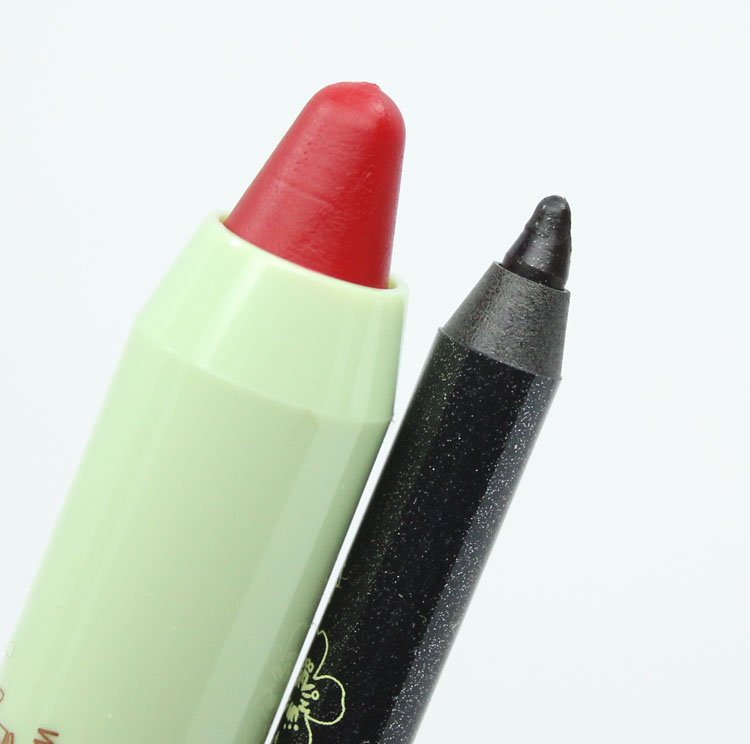 Pixi Tinted Brilliance Balm Rosy Red & Endless Silky Eye Pen GlimmeryBlack