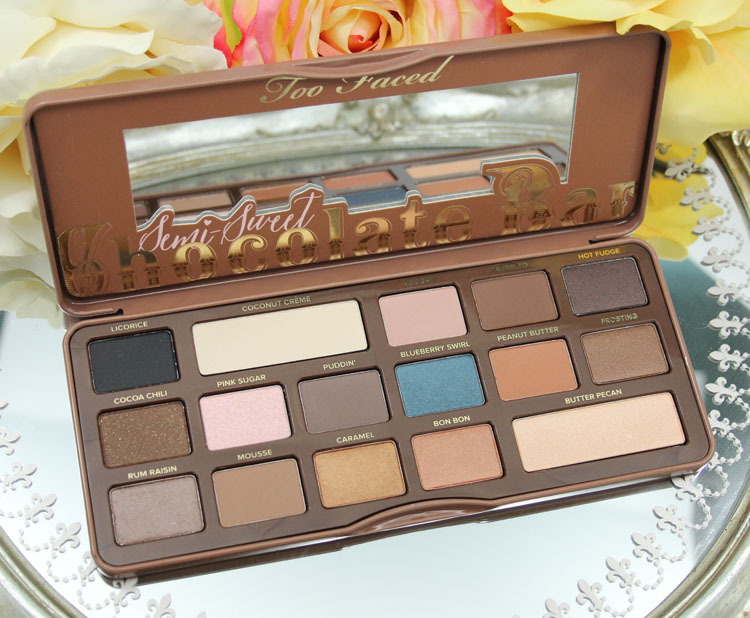Too Faced Semi-Sweet Chocolate Bar Palette-2