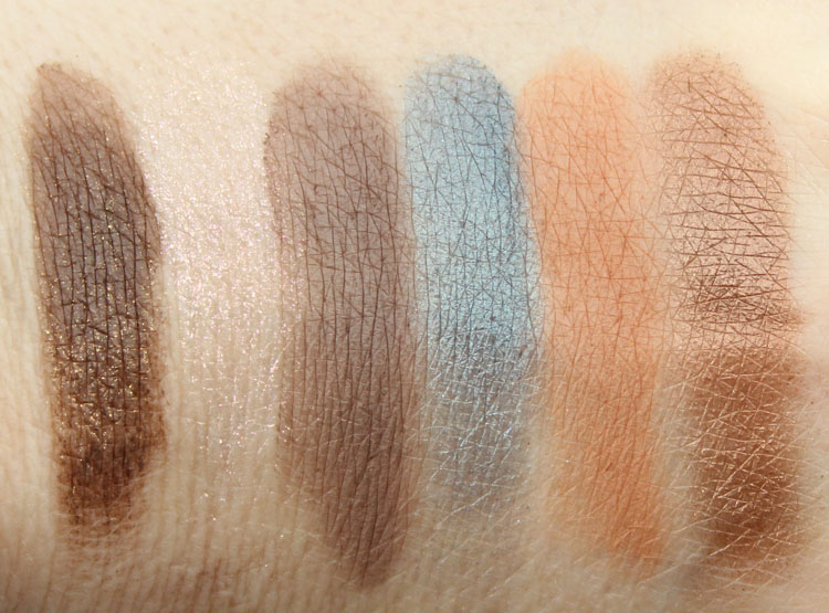 Too Faced Semi-Sweet Chocolate Bar Palette Swatches-2