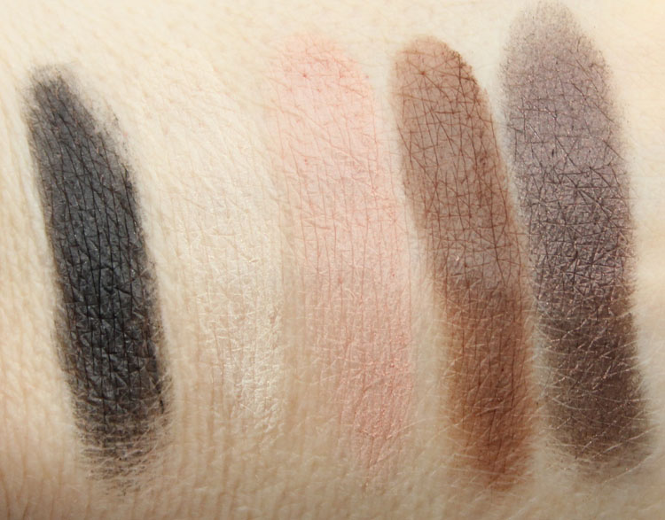 Too Faced Semi-Sweet Chocolate Bar Palette Swatches