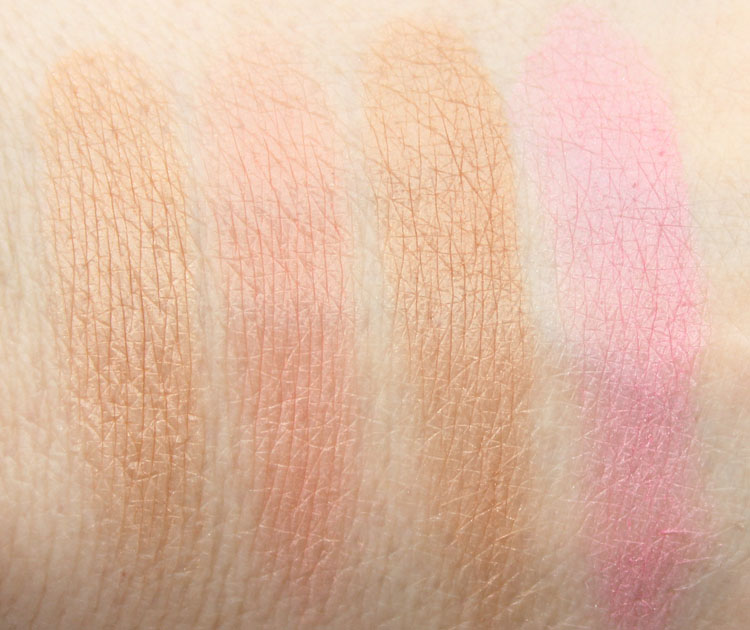 Too Faced Soul Mates Blushing Bronzer Swatches