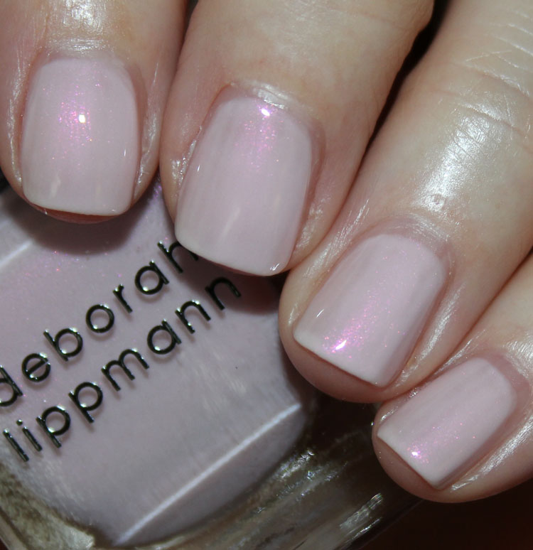 Deborah Lippmann Whisper For Spring 2015 Vampy Varnish