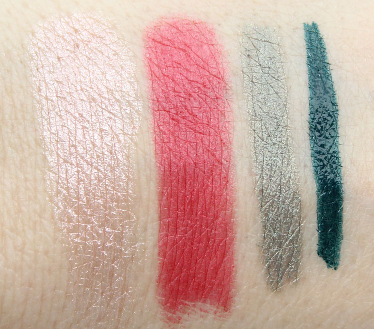 Lise Watier Expression Swatches