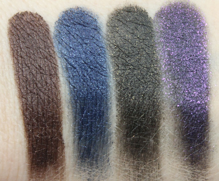 Milani Fierce Foil Eyeliner Swatches