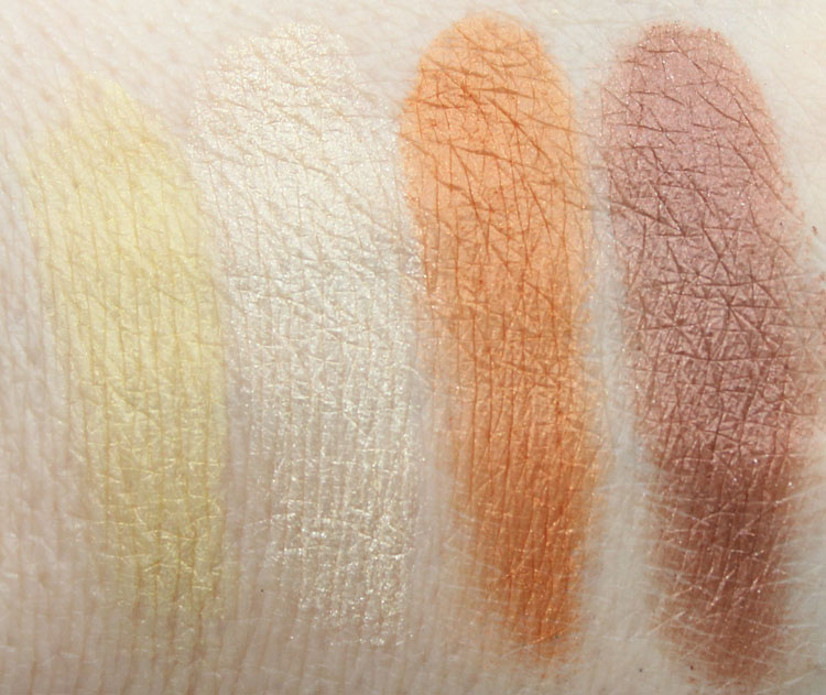 Paul & Joe Beaute Girafe Face and Eye Color Swatches