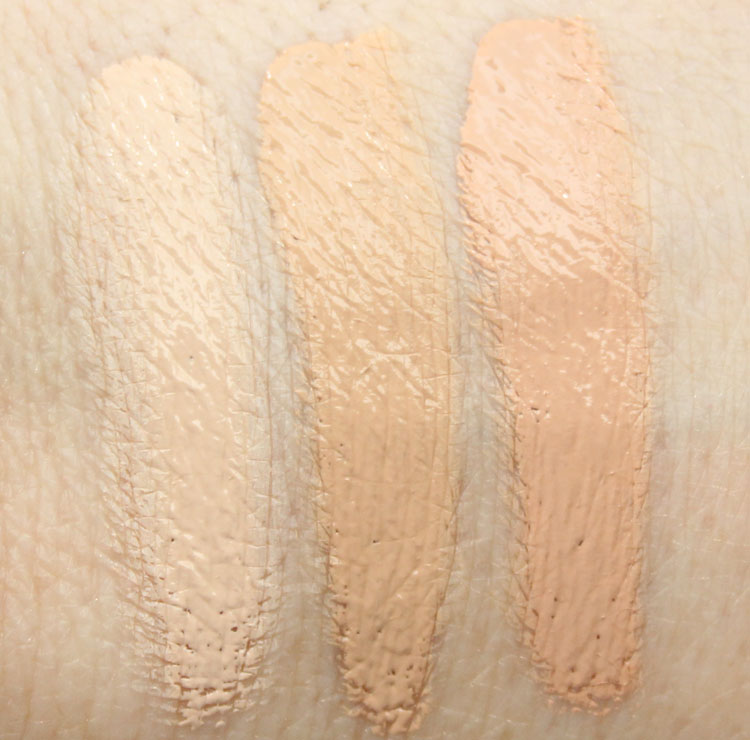 Wet n Wild Fergie Come Correct Celebrity Concealer Swatches