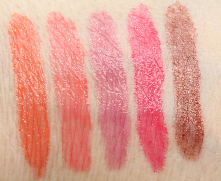 Wet n Wild Mega Slicks Balm Stain for Spring 2015 Swatches