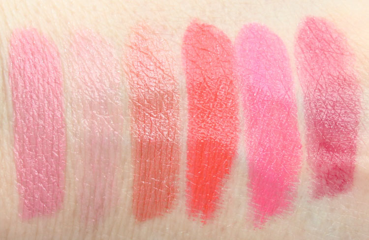 Wet n Wild Silk Shine Lipstick New Shades Swatches