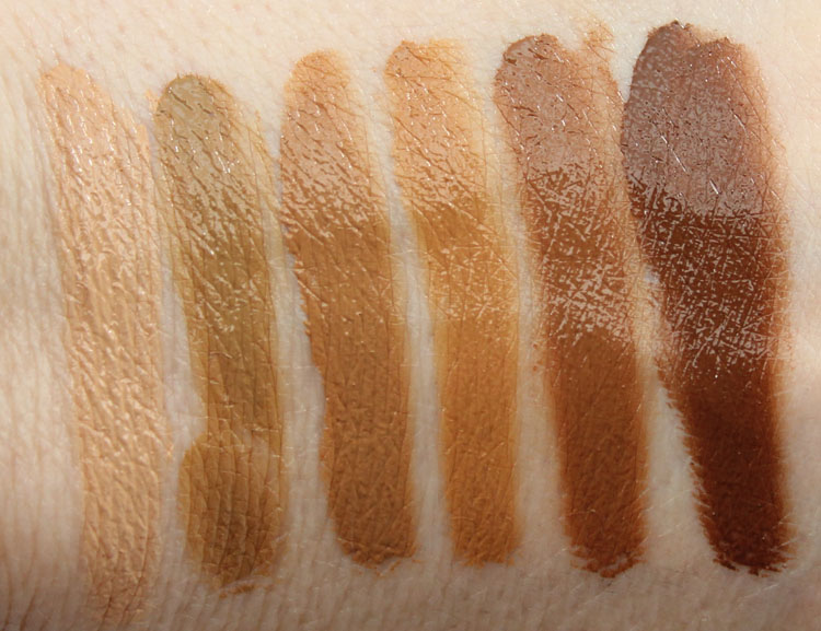 Jordana Complete Cover 2-in1 Concealer & Foundation Swatches-2