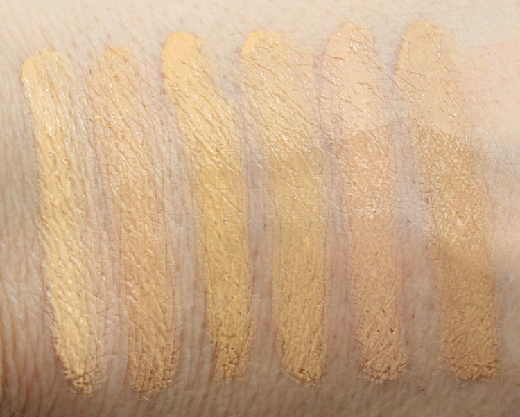 Jordana Complete Cover 2-in1 Concealer & Foundation Swatches