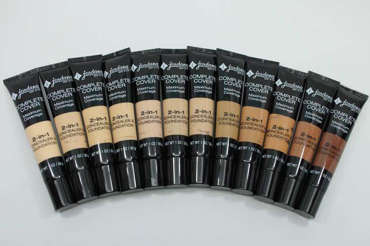 Jordana Complete Cover 2-in1 Concealer & Foundation