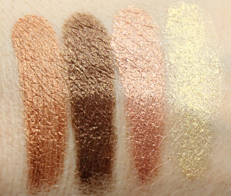 Milani Fierce Foil Eyeshine Florence Swatches