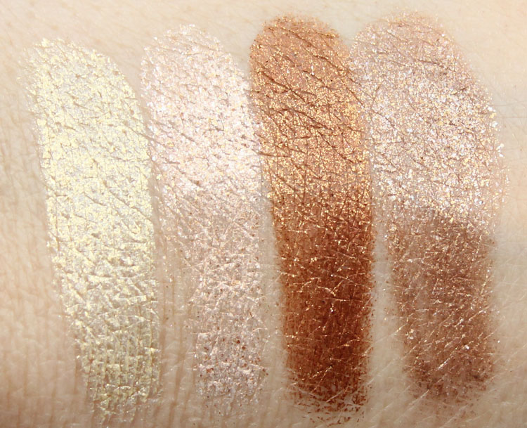 Milani Fierce Foil Eyeshine Milan Swatches