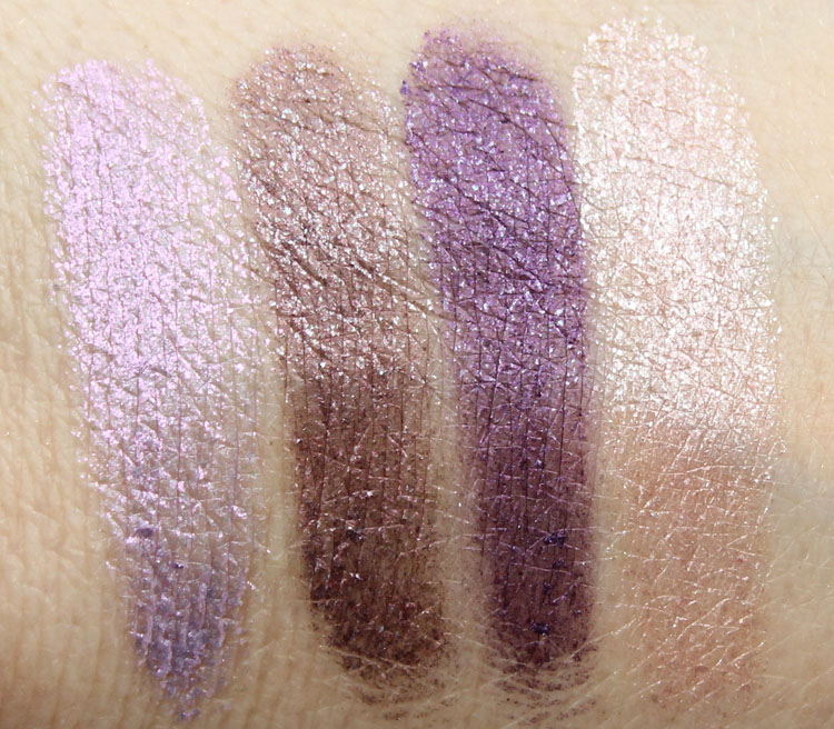 Milani Fierce Foil Eyeshine Rome Swatches