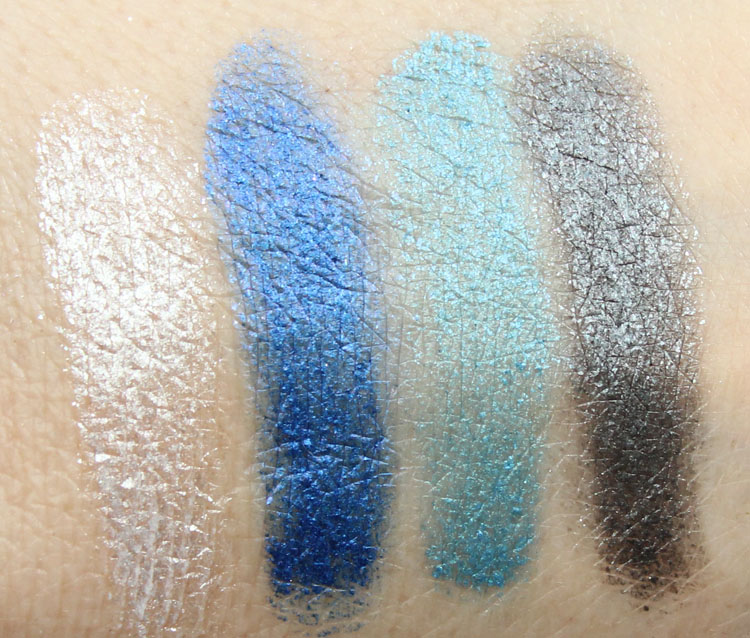 Milani Fierce Foil Eyeshine Venice Swatches
