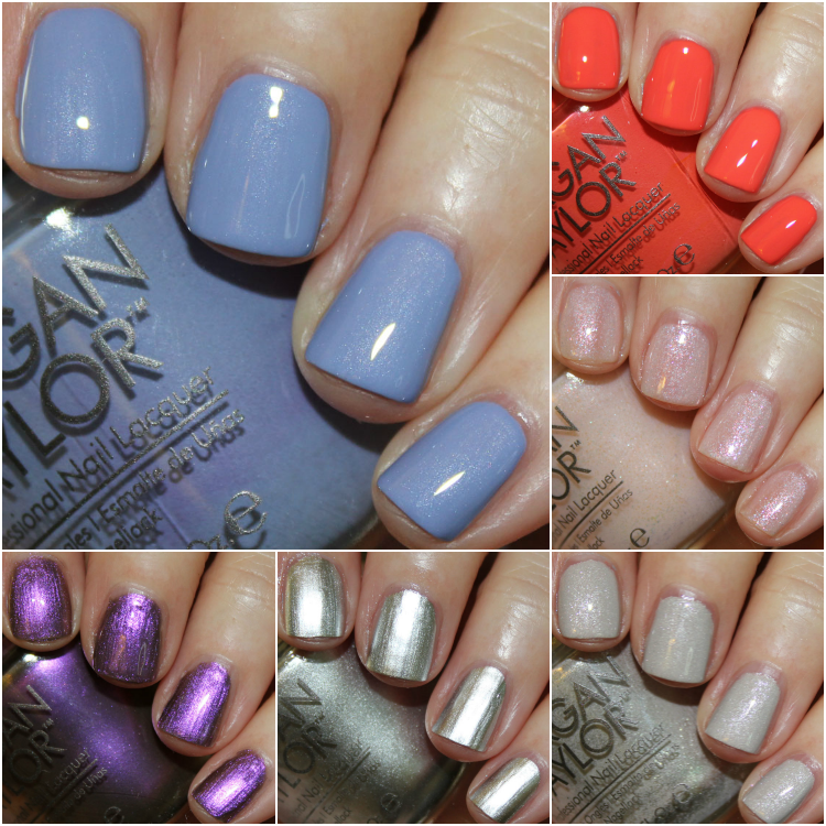 Morgan Taylor Summer Trends Swatches & Review