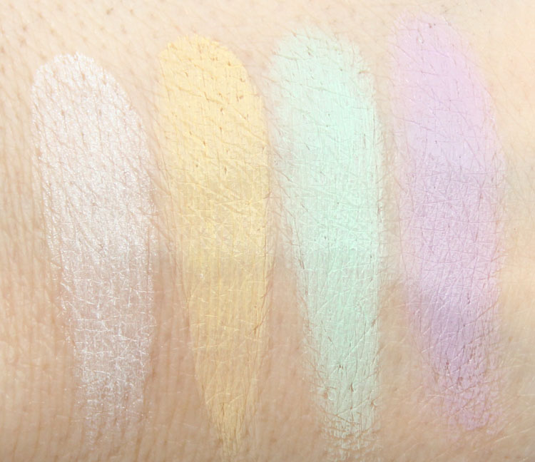 Wet n Wild Coverall Correcting Palette Swatches