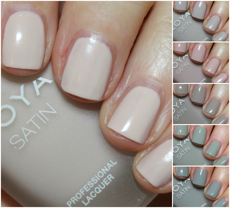 Zoya Naturel Satins for 2015