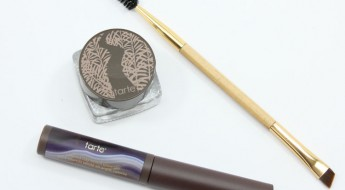 tarte Amazonian Clay Waterproof Brow Mousse and Colored Clay Tinted Brow Gel in Grey
