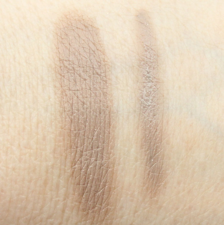 tarte Amazonian Clay Waterproof Brow Mousse and Colored Clay Tinted Brow Gel in Grey Swatches