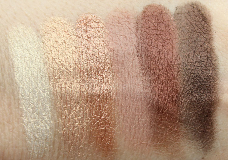 theBalm Nude Dude Nude Eyeshadow Palette Volume 2 Swatches-2