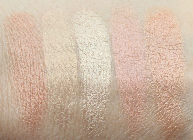 Favorite Highlighters Swatches