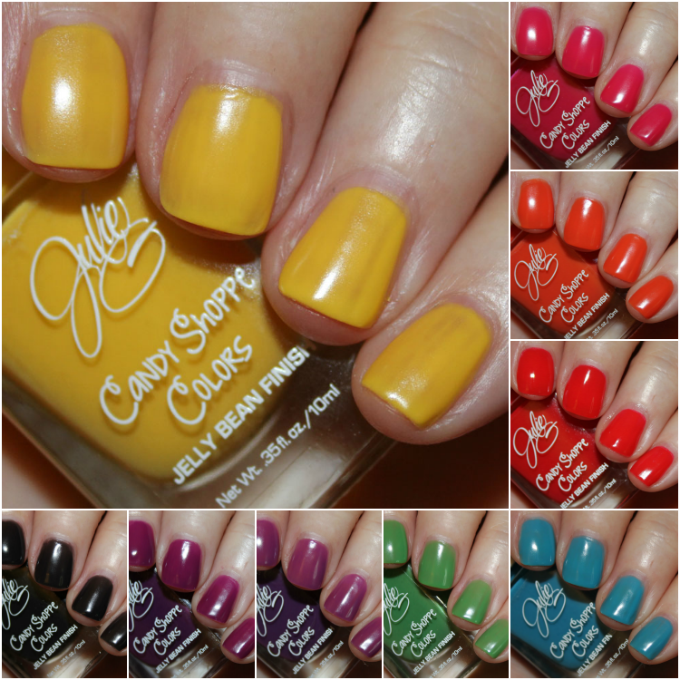 JulieG Candy Shoppe Colors