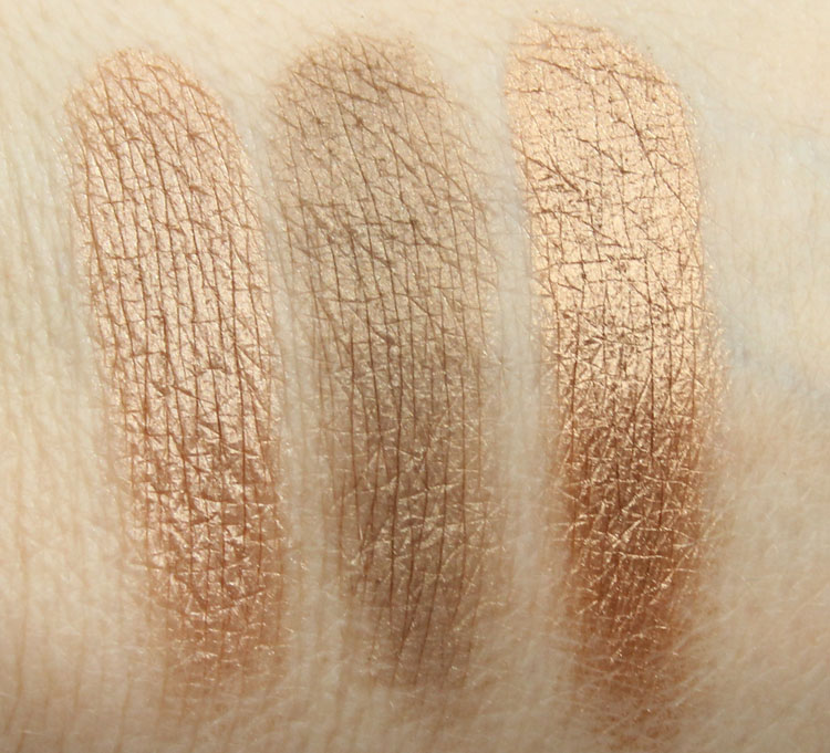 Pixi Beauty Palette Bronzette Summer Glow Swatches-3
