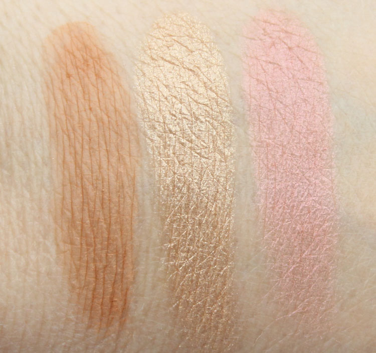 Pixi Beauty Palette Bronzette Summer Glow Swatches