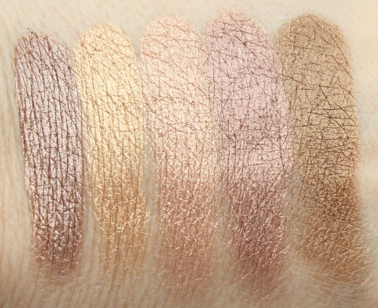 Urban Decay YDK, Half Baked, Blaze, Toasted, Smog